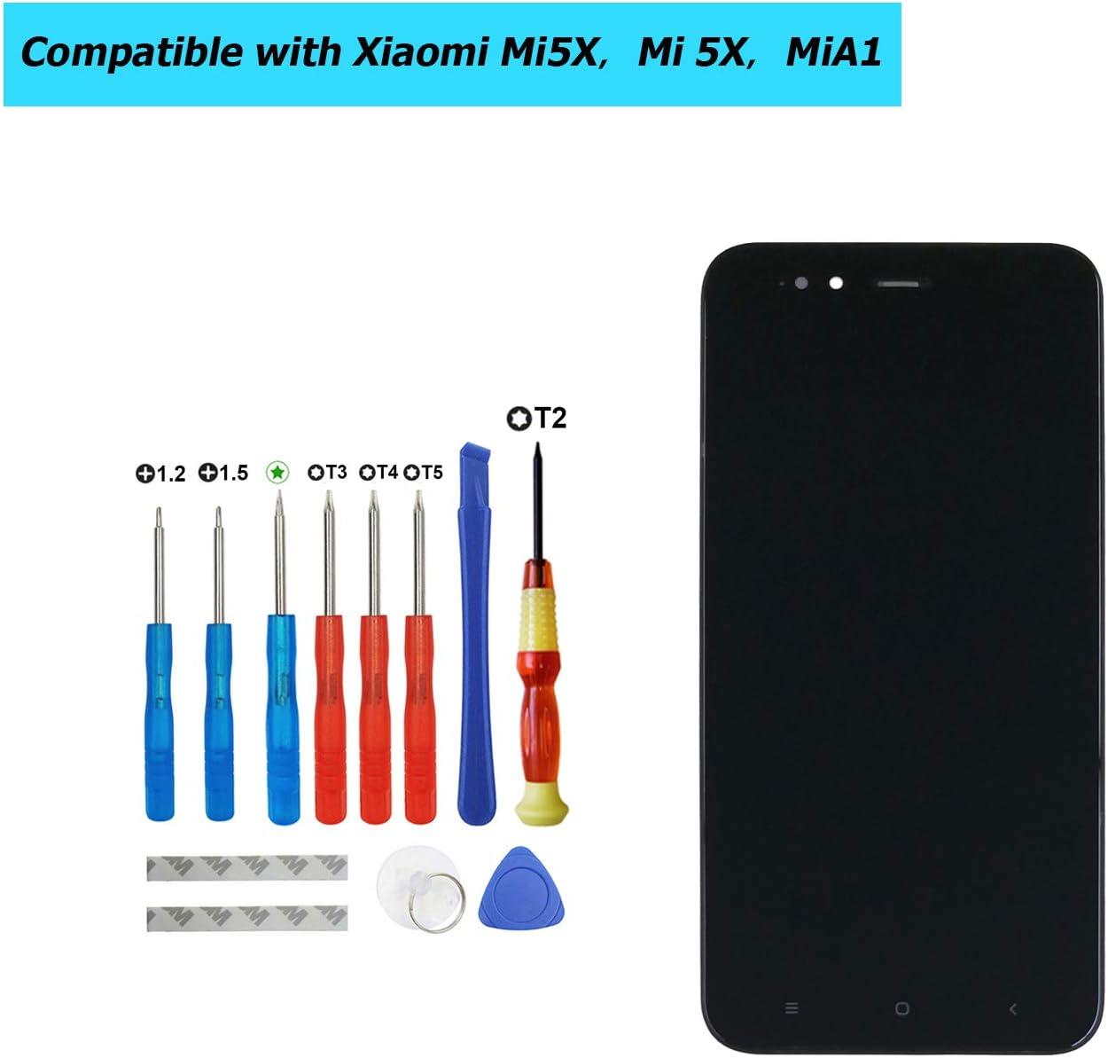 Upplus - Pantalla LCD de Repuesto Compatible con Xiaomi Mi5X, Mi ...