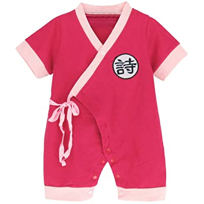 A&J Design Baby Chinese Traditional Jumpsuit Romper