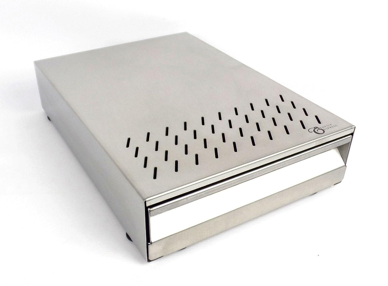 EDESIA ESPRESS - Depósito para posos de café - Estilo cajón - Para cafetera exprés - Con mango - 265 x 370 x 85 mm Edesia Espress Ltd