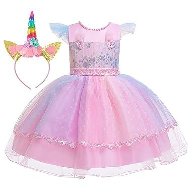 SC Vestidos Para Niñas Vestido De Princesa De Niña De Las ...