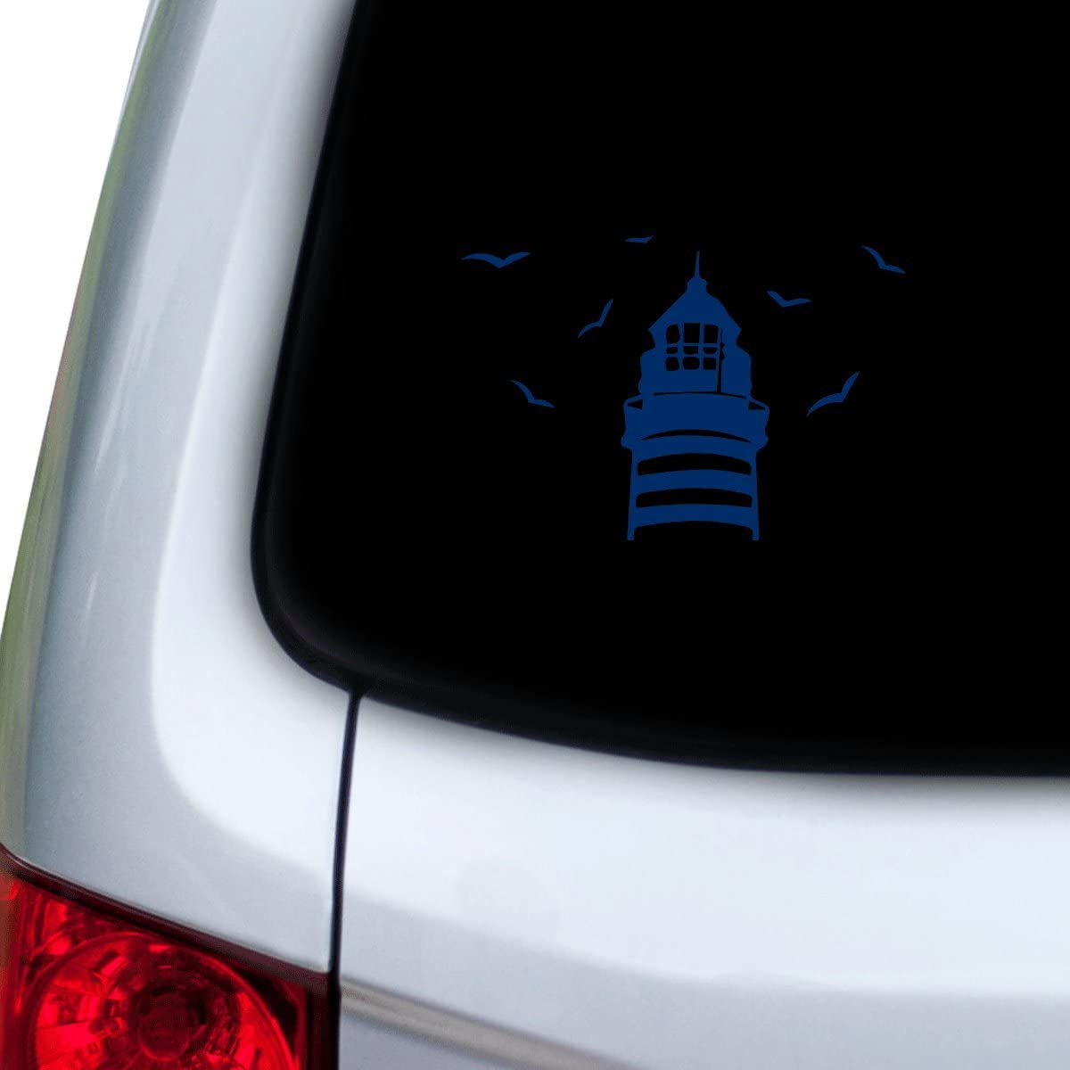 Hoods Red Doors StickAny Car and Auto Decal Series Three Birds Branches Sticker for Windows
