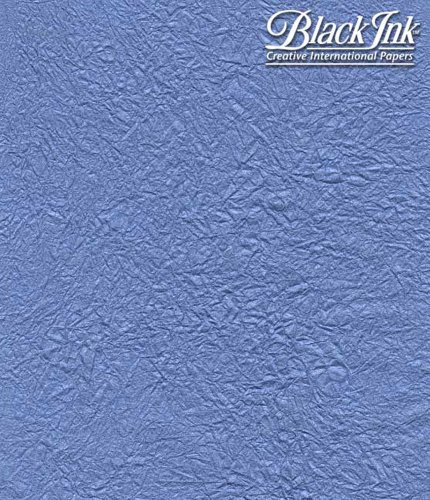Paper Thai Pearl Momi Blue 23X34 by Black Ink