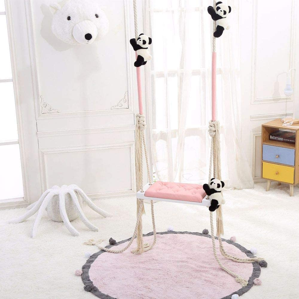 Swing,Swing for Children, Children's Swing, Swing for Home and Garden, Baby Swing, Wooden Swing,A