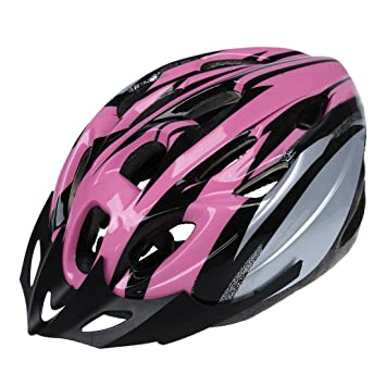 SODIAL(R) Casco de Carbono para Bicicleta con Visera para Adulto Circunferencia de Cabeza