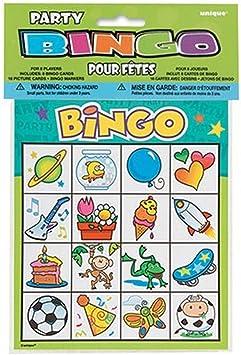 Bingo - Juego animado Cumpleaños infantiles: Amazon.es: Juguetes y juegos