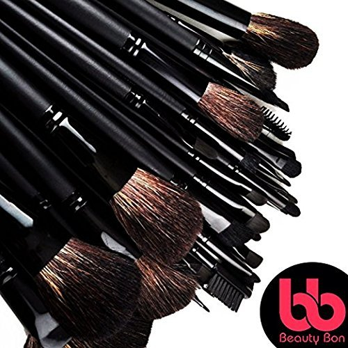 Best Professional Makeup Brushes Set - 24 Pc Cosmetic Make up - Beauty Blending for & Cream