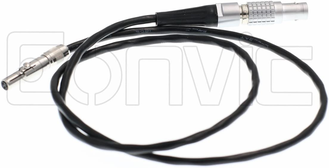 Eonvic Odyssey 7Q Recorder Neutrik Male to 3 Pin 0B Steadicam Power Cable for Convergent Designs