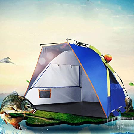 Carpas de pesca Refugios Pop-up Sombra anti-UV Carpa de ...