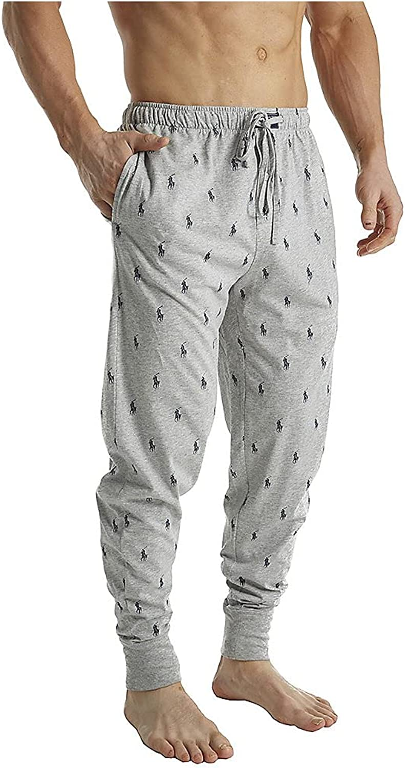 Polo Ralph Lauren Men's Knit Covered Waistband Jogger Pants at  Men's Clothing store