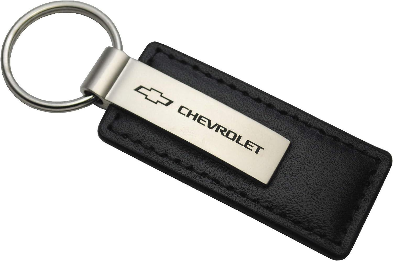 Chevrolet Black Leather Key Chain Key Chains Amazon Canada