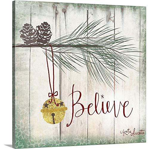 CANVAS ON DEMAND 2399888_24_16x16_None CanvasOnDemand Katie Doucette Premium Thick-Wrap Canvas Entitled Bells Wall Art Print, 16 x 16 ,