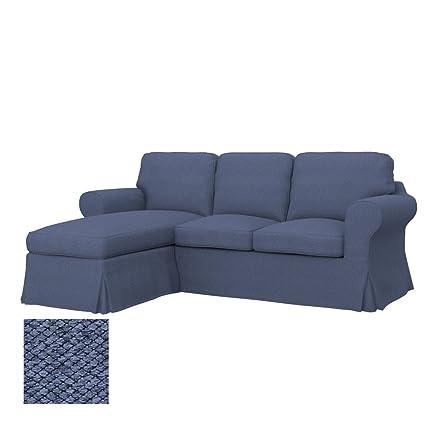 Soferia - IKEA EKTORP Funda para sofá de 2 plazas, Nordic ...