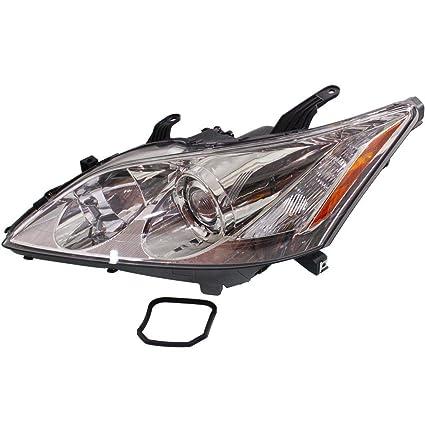 2007 lexus es 350 hid headlight assembly