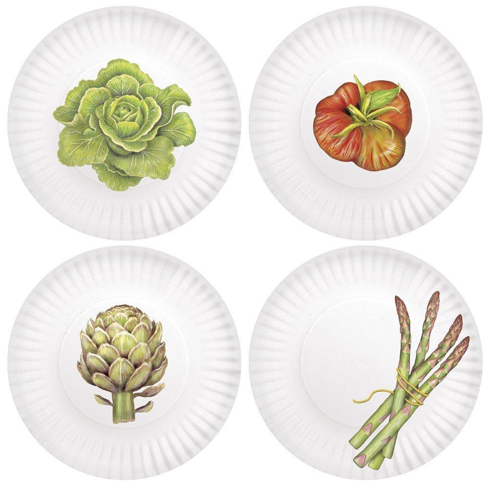 Mary Lake-Thompson Veggies 7.5-inch Melamine Plates, Set of 4 MZ682PP