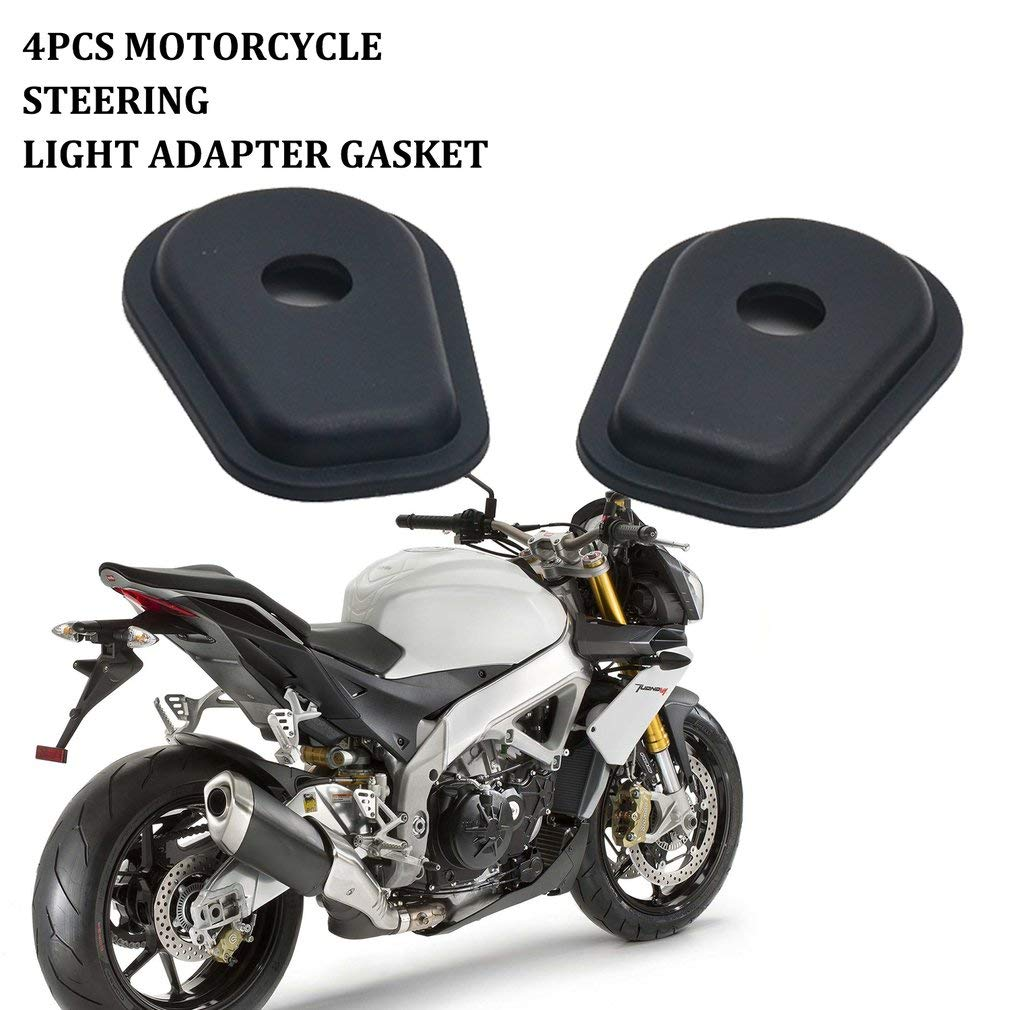 Leoboone Moto Refit Luces intermitentes Adaptadores espaciadores para Kawasaki Z250 Z300 Z650 Z750 Z800 Z900 Z1000 Z1000SX Z750S Z250SL