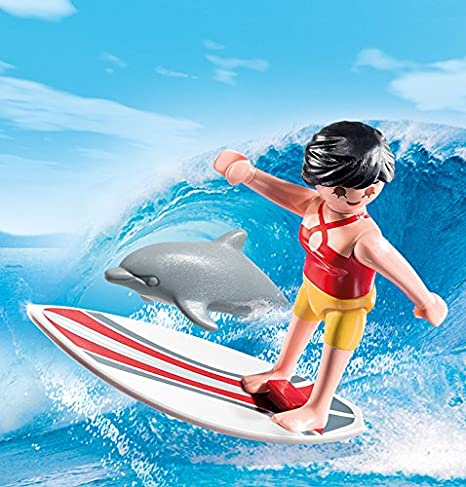 Playmobil - Surfista con Tabla de Surf (53720): Amazon.es: Juguetes y juegos