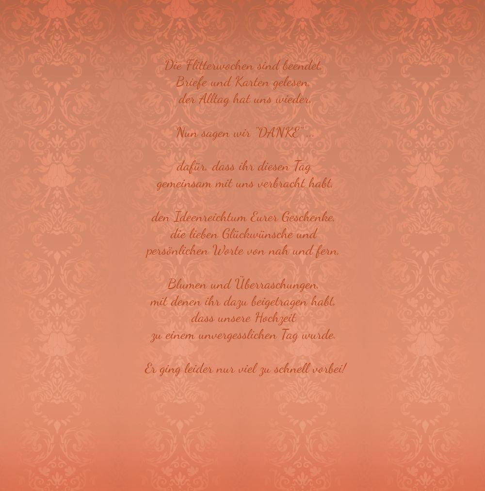 Kartenparadies Danksagung für Hochzeitsgeschenke Hochzeit Hochzeit Hochzeit Danke Eheversprechen, hochwertige Danksagungskarte Hochzeitsglückwünsche inklusive Umschläge   10 Karten - (Format  145x145 mm) Farbe  flamingoOrangerot B01MTBL4EK | Modern Und  8c9c71