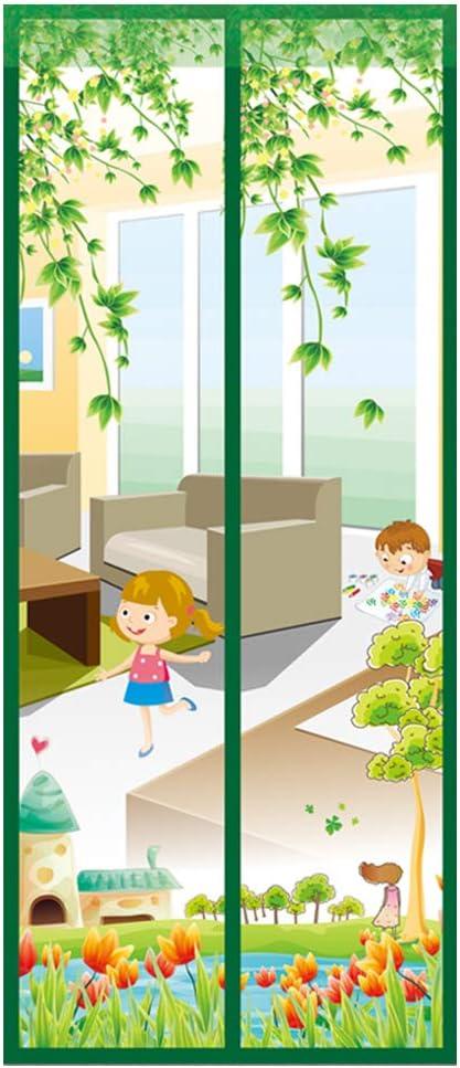 Mosquitera Magnética para Puertas Mosquitera Puerta Magnetica Corredera Cortina Cortina de Sala de Estar la Puerta del Balcón Puerta Corredera de Patio