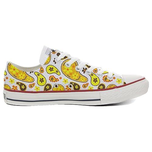 Converse All Star zapatos personalizadas (Producto Artesano) Hippie Paisley size 46 EU: Amazon.es: Zapatos y complementos