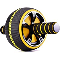 Ab Roller for Abs Workout,Abs Workout Equipment for Home Workouts,Ab Roller Wheel with Thick Knee Pad