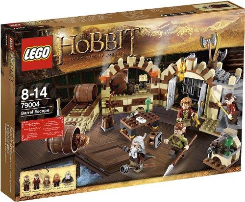 Amazon Hobbit gifts barrel escape Lego 79004 exclusive