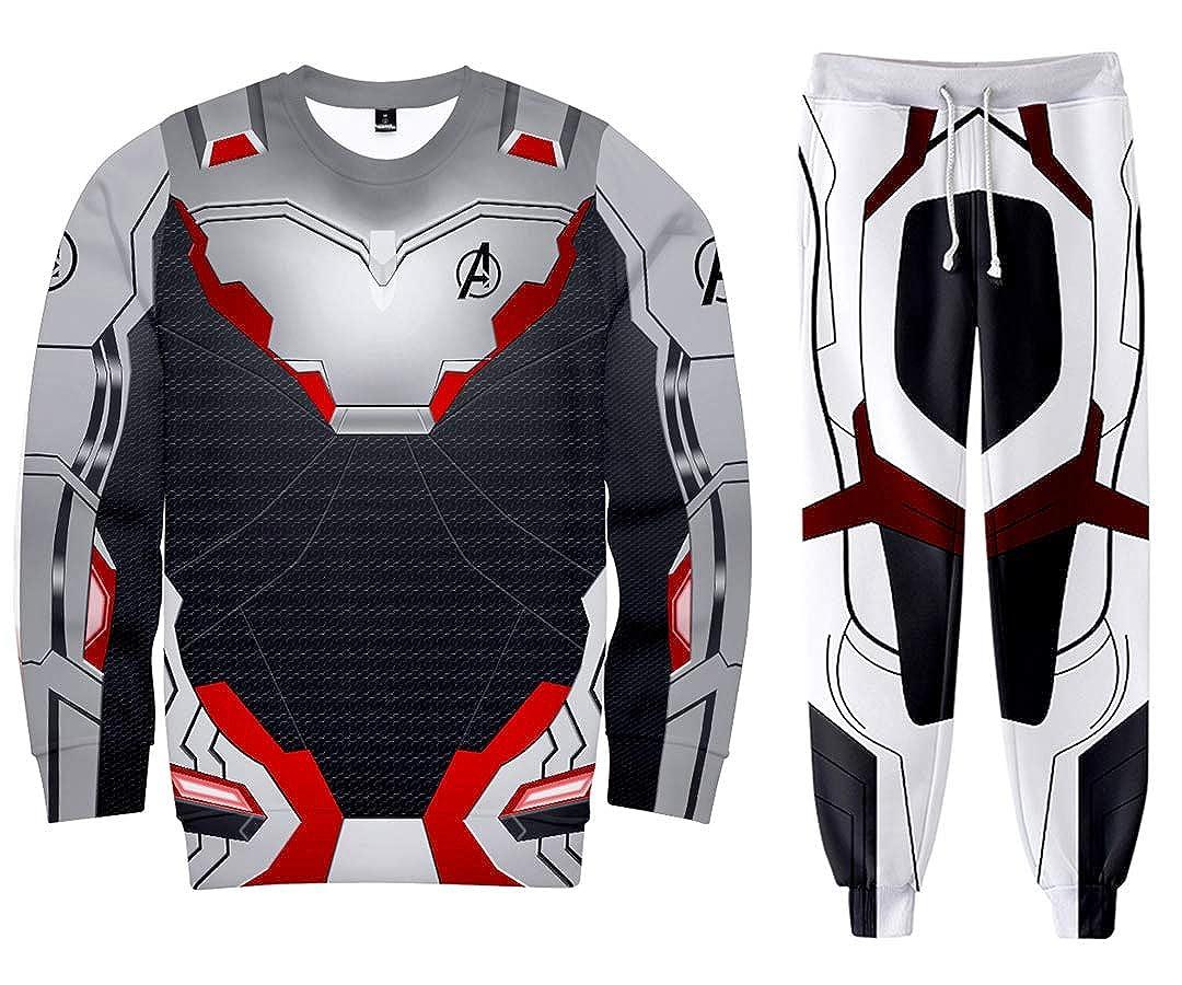 Silber Basic Basic Basic Unisex 3D Druck Avengers Hoodies Superheld Quantum Realm Kostüme Sweatshirt Set B07QBMX5VN Film & Fernsehen Fanbekleidung Haltbarkeit 188caa