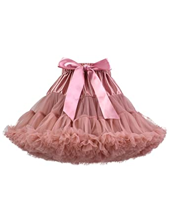 f75f38261bf7 Amazon.com  Baby Girl s Fluffy Tutu Skirt Toddler Tulle Birthday ...