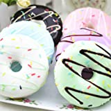 Mumustar Squishy Donut Toy, Jumbo Kawaii Donut Squshies Slow Rising Scented Squeeze Super Soft Stress Relief Food Toy