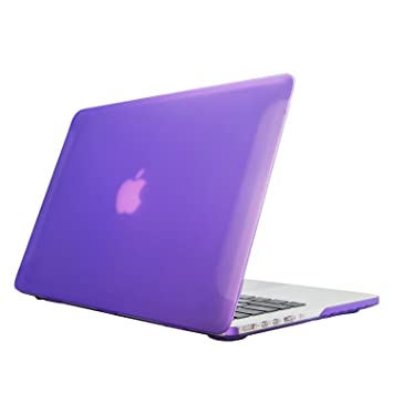 Funda para MacBook 13 Retina Display, Ximeng mate goma ...