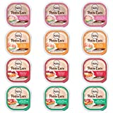 Nutro Wholesome Essentials Petite Eats Wet Adult Dog Food Variety Pack – 4 Flavors – Lamb, Beef, Chicken, and Turkey – 3.5 Ounces Each (12 Pack)