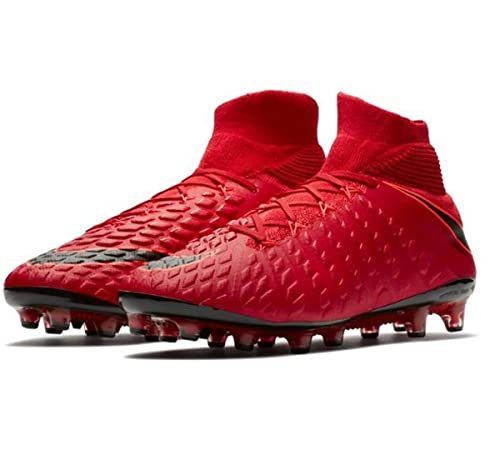 af40b1a59ff NIKE Mens Hypervenom Phantom III DF AGPRO SZ 8.5 University Red Black  852550 616  Amazon.co.uk  Sports   Outdoors