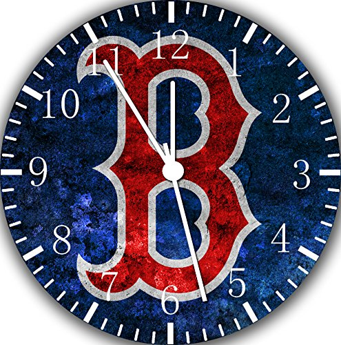 Red Sox Frameless Borderless Wall Clock F154 Nice For Gift or Room Wall Decor
