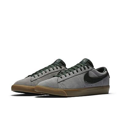 137cd4b5622d48 Nike Blazer Low GT Mens Skateboarding-Shoes 704939-018 6.5 - Gunsmoke Black  Spruce-Gum Light Brown  Buy Online at Low Prices in India - Amazon.in