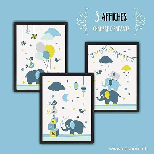 Affiche chambre bébé garçon décoration chambre bébé déco ...