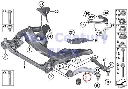Amazon com: BMW Genuine Front Axle Suspension Left Tension