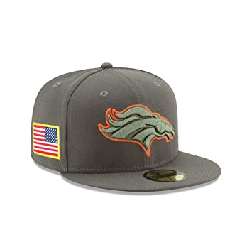 New Era NFL DENVER BRONCOS Salute to Service 2017 Sideline 59FIFTY Game Cap 48aab7076
