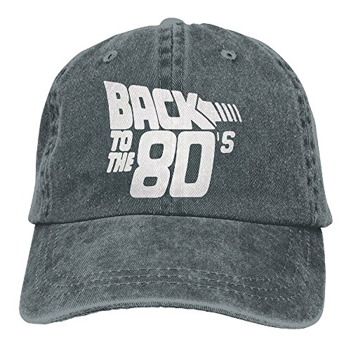 Richard Back To The 80's Funny Retro Unisex Cotton Washed Denim Travel Hats Adjustable (Mad Hatter Inspired Outfit)