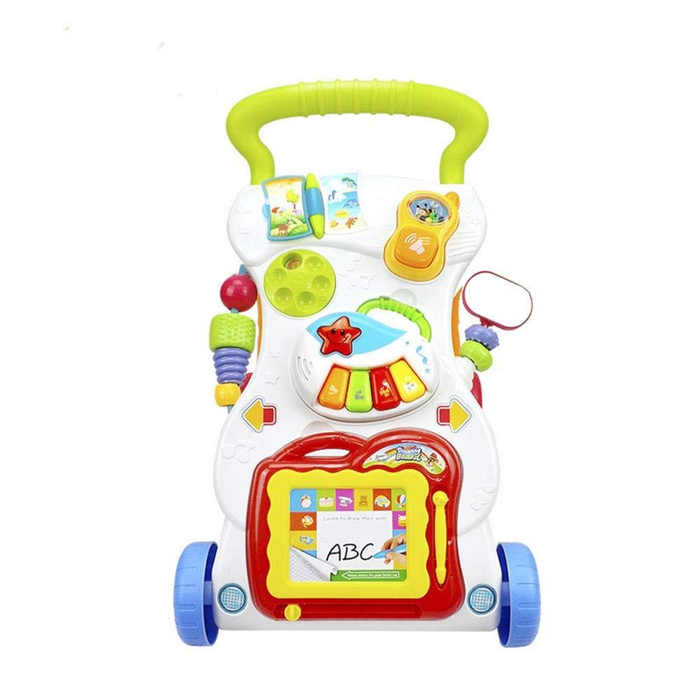 Andador Bebé Sentado Postura Aprender Caminante Carrito Bebé ...
