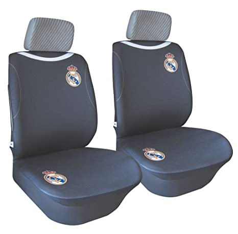 Excellent Amazon Com Sumex Rma7102 Seat Covers Real Madrid 2 Pcs Beatyapartments Chair Design Images Beatyapartmentscom