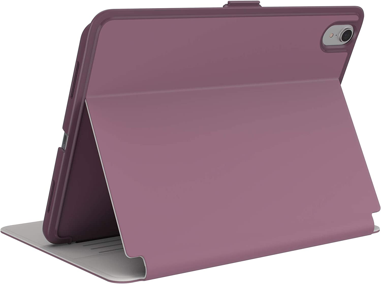 Speck BalanceFolio 11-inch iPad Pro Case, Gen 2, Plumberry Purple/Crushed Purple/Crepe Pink (122011-7265)