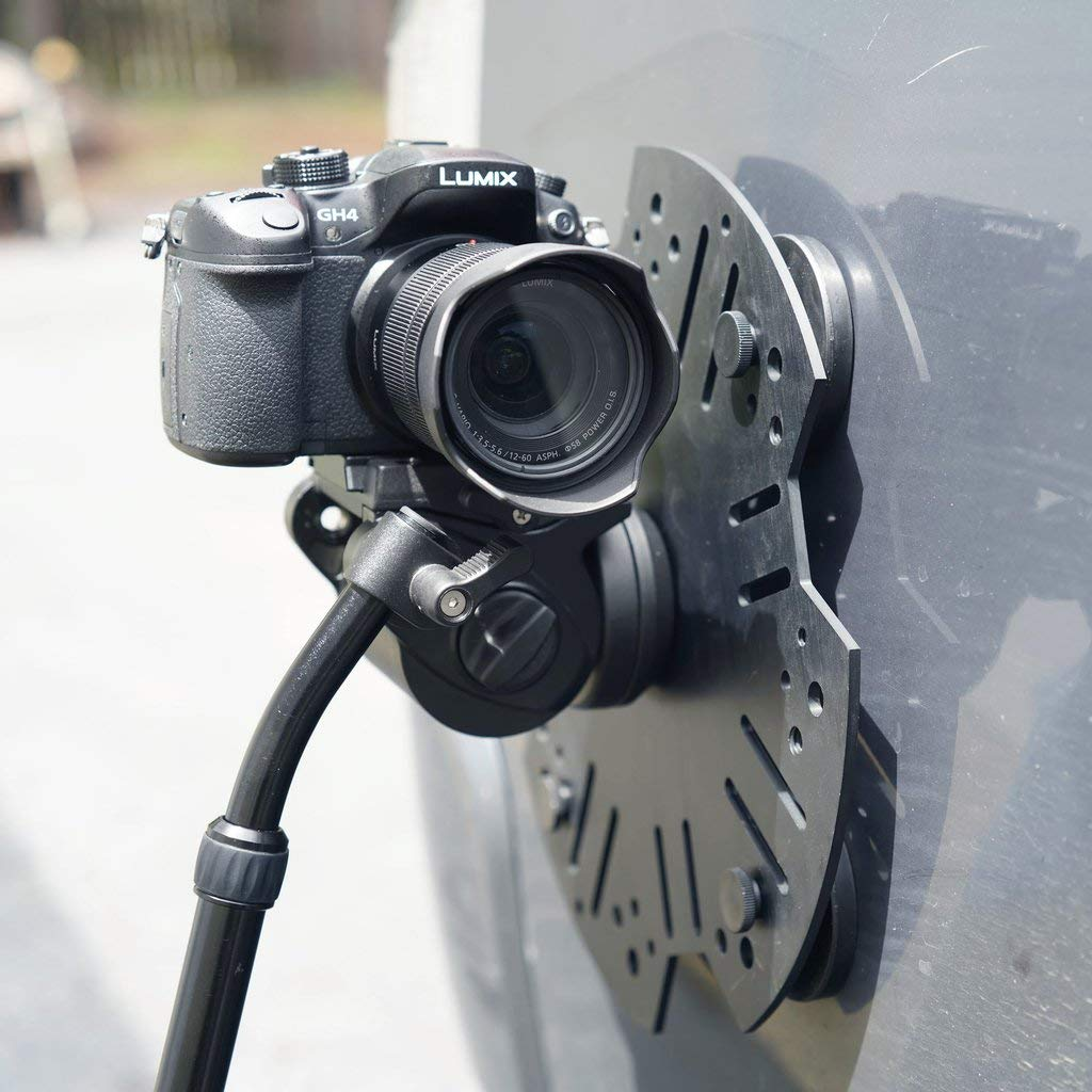 Modus Camera Mounting System - Car Magnetic Vehicle Filmmaking Camera Mount Platform with 4 Magnets - Supports Up to 20lbs