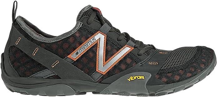 New Balance Mt10br - Zapatillas de running para hombre para hombre, tamaño 44, 5 UK, color gray / naranja: Amazon.es: Zapatos y complementos