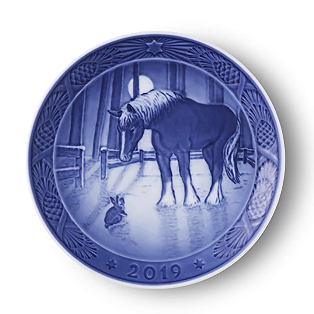 Royal Copenhagen 1027165 Collectible 2019 Christmas Plate by Royal Copenhagen