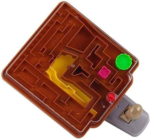 LJJOO 2-en-1 Maze Juego de Mesa, Laberinto 3D Juego Educativo Juguete de Regalo (23x16x10cm): Amazon.es: Hogar
