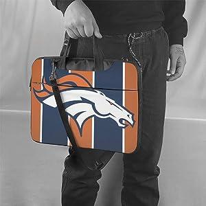 ALHOKLAus Denver Broncos Stylish Customized Laptop Bag, Portable Shoulder Bag, Crossbody Bag and Briefcase (3 Sizes)