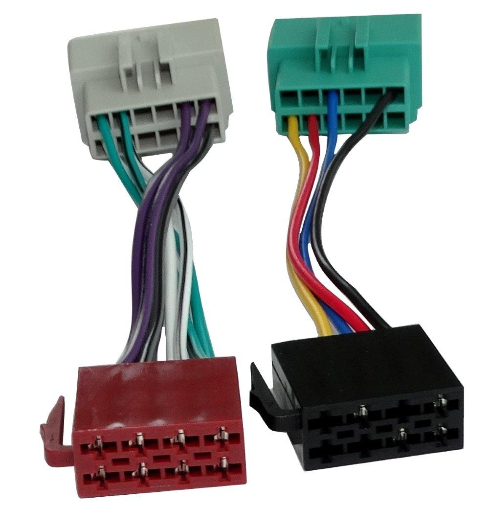 Aerzetix Adaptateur pour autoradio ISO A pour S40 S60 S70 S80 V40 V70 - C2009