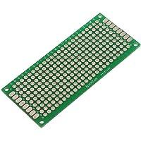SODIAL(R) 4pcs Doble-Lado Prototipo FR-4 PCB Stripboard universal