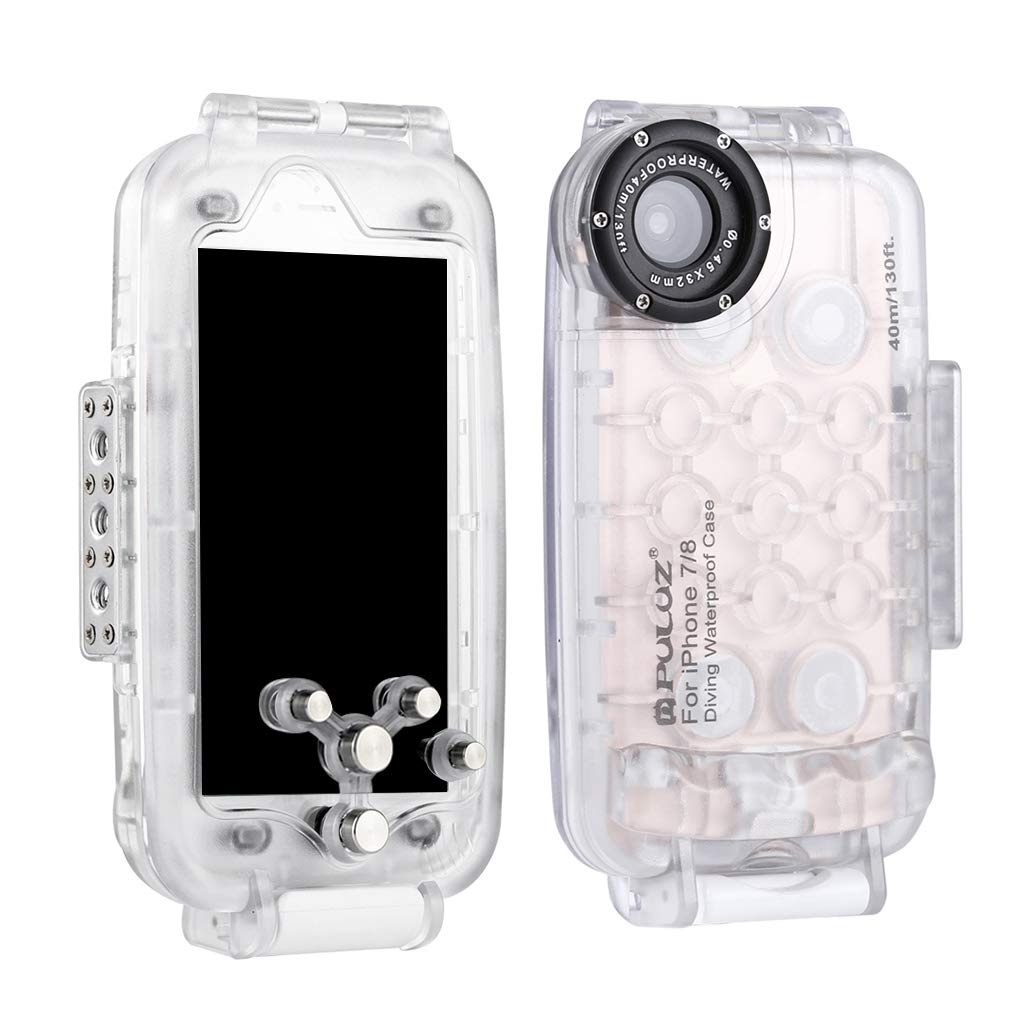 40M/130FT Underwater Waterproof Diving Swimming Housing Cover Shell Protective Case for Mobile Phones