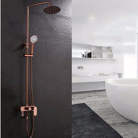 Duchas Espacio de aluminio multi - funcion de control de mampara de ducha mampara de ducha mampara de ducha de cinco set de ducha: Amazon.es: Hogar