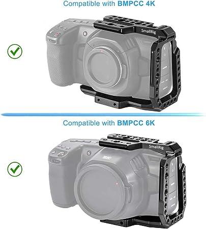 Mango lateral SmallRig NATO para BMPCC 4K Cámara /& Samsung T5 almacenamiento SSD 2270